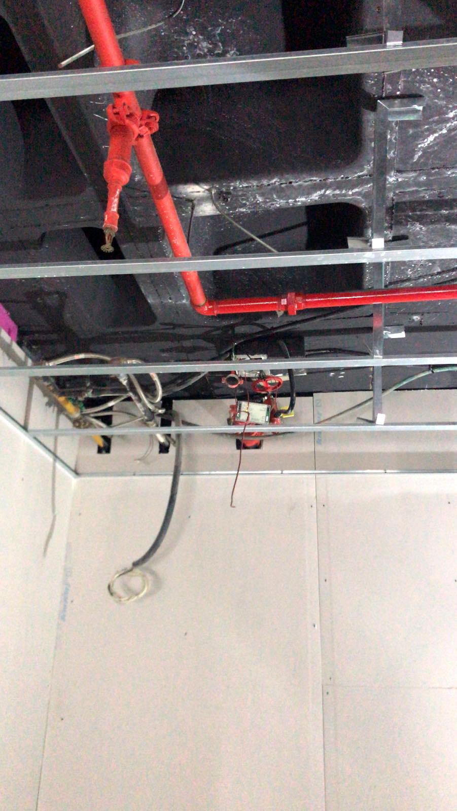 Instalación de Sistema contra incendios en Castellón