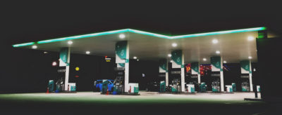 Extinción automática en estaciones de servicio